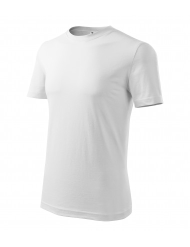 Adler MALFINI Koszulka męska Classic New 132 biały