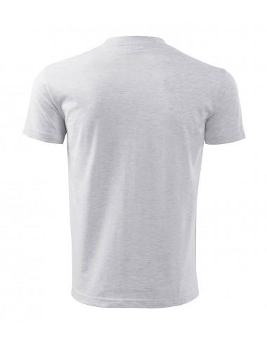 2Adler MALFINI Koszulka męska Classic New 132 jasnoszary melanż