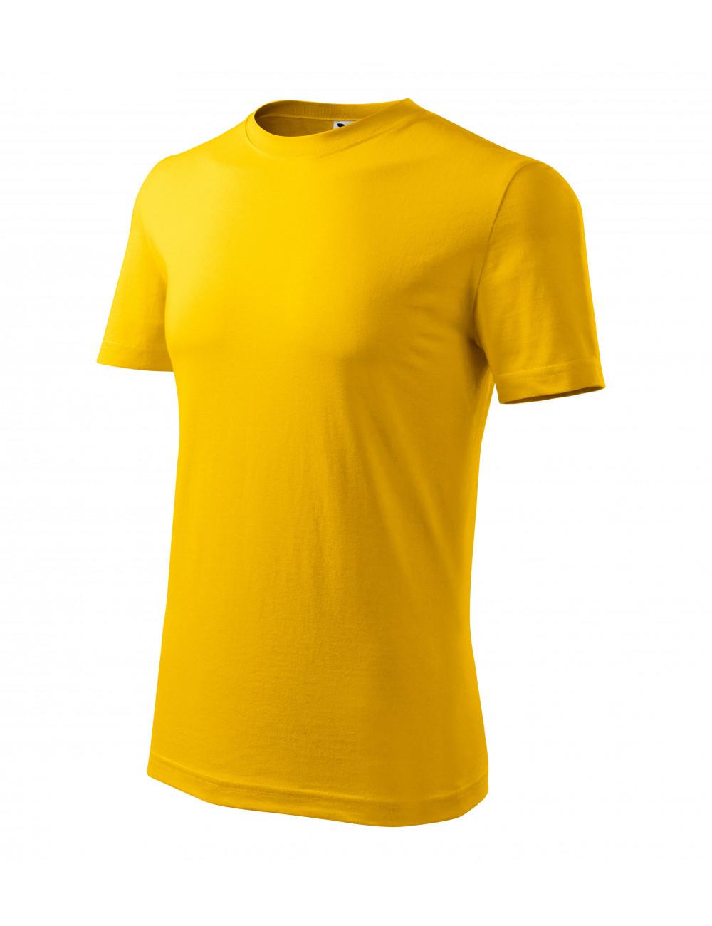 Adler MALFINI Koszulka męska Classic New 132 żółty