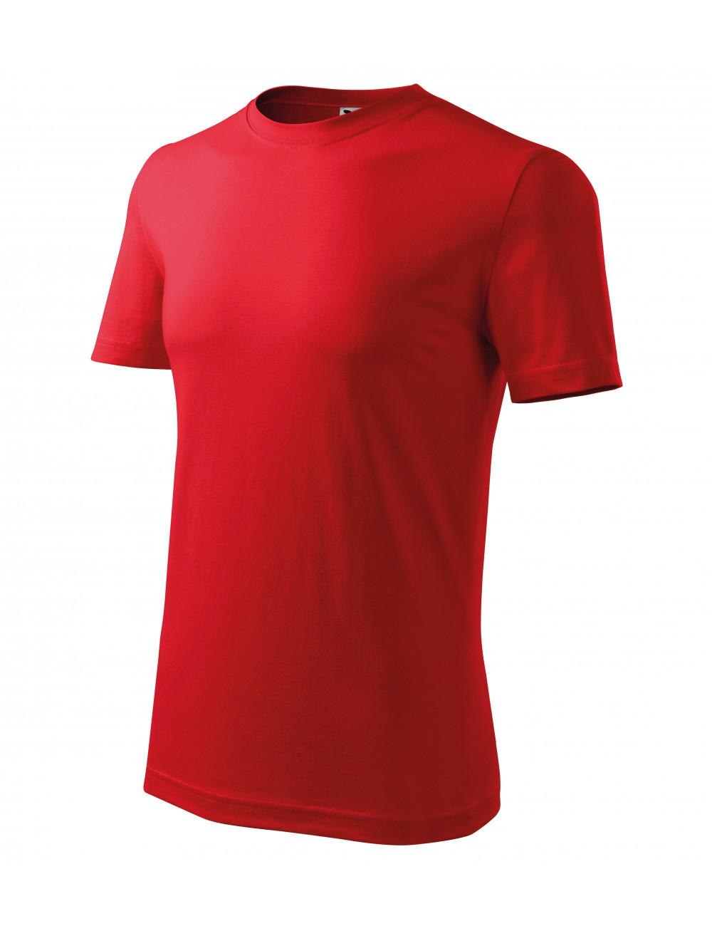 Adler MALFINI Koszulka męska Classic New 132 czerwony
