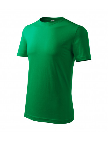 2Adler MALFINI Koszulka męska Classic New 132 zieleń trawy