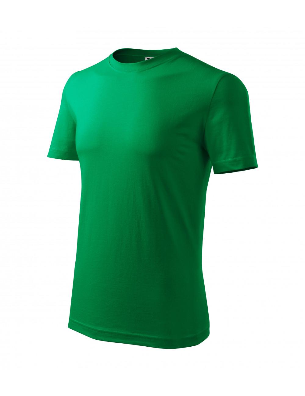 Adler MALFINI Koszulka męska Classic New 132 zieleń trawy