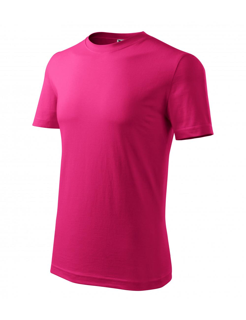 Adler MALFINI Koszulka męska Classic New 132 czerwień purpurowa
