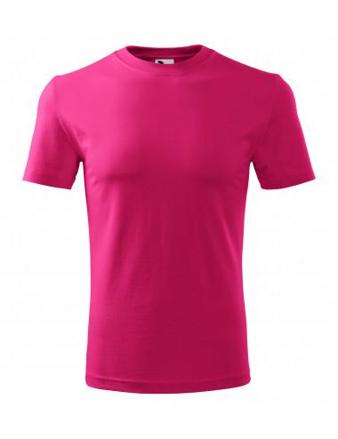 2Adler MALFINI Koszulka męska Classic New 132 czerwień purpurowa