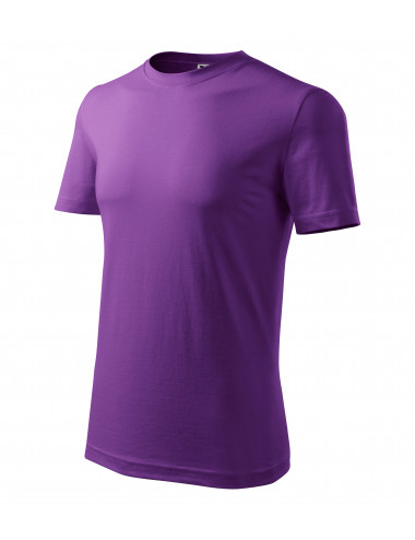 2Adler MALFINI Koszulka męska Classic New 132 fioletowy