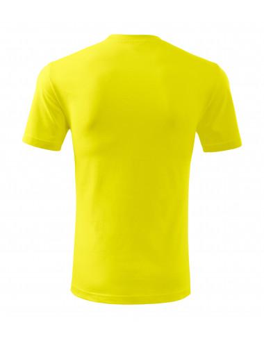 2Adler MALFINI Koszulka męska Classic New 132 cytrynowy