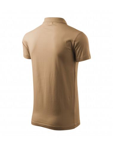 2Adler MALFINI Koszulka polo męska Single J. 202 piaskowy
