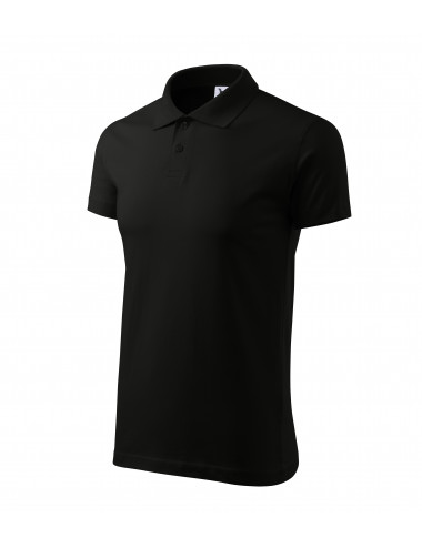 2Adler MALFINI Koszulka polo męska Single J. 202 czarny