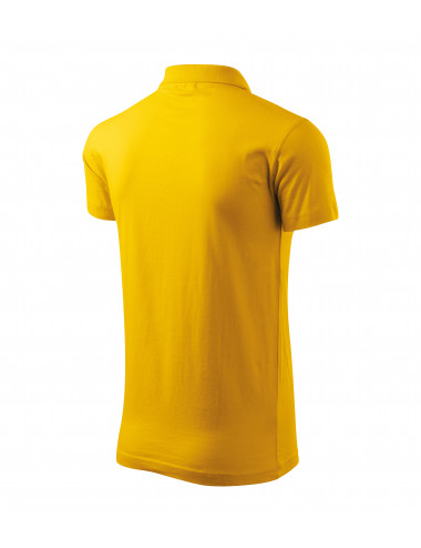 2Adler MALFINI Koszulka polo męska Single J. 202 żółty