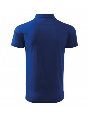 2Adler MALFINI Koszulka polo męska Single J. 202 chabrowy