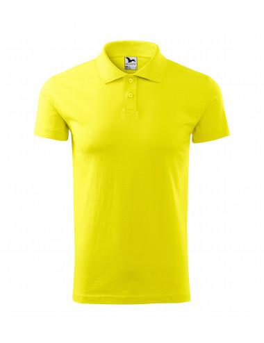 2Adler MALFINI Koszulka polo męska Single J. 202 cytrynowy