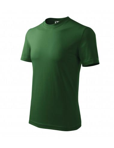 Adler MALFINI Koszulka unisex Heavy 110 zieleń butelkowa