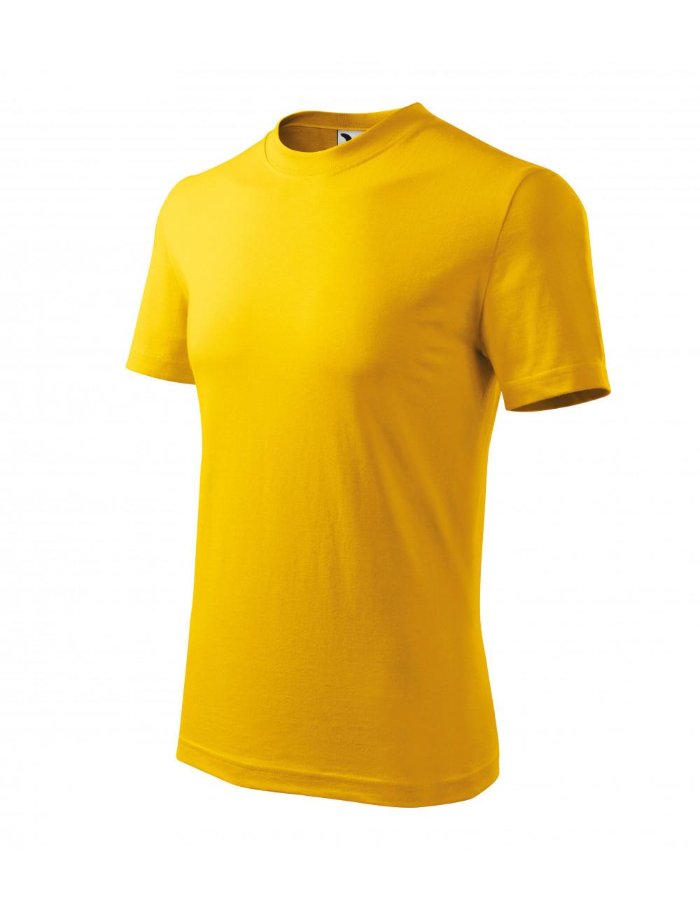 Adler MALFINI Koszulka unisex Heavy 110 żółty
