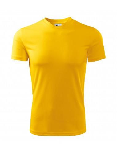 2Adler MALFINI Koszulka męska Fantasy 124 żółty