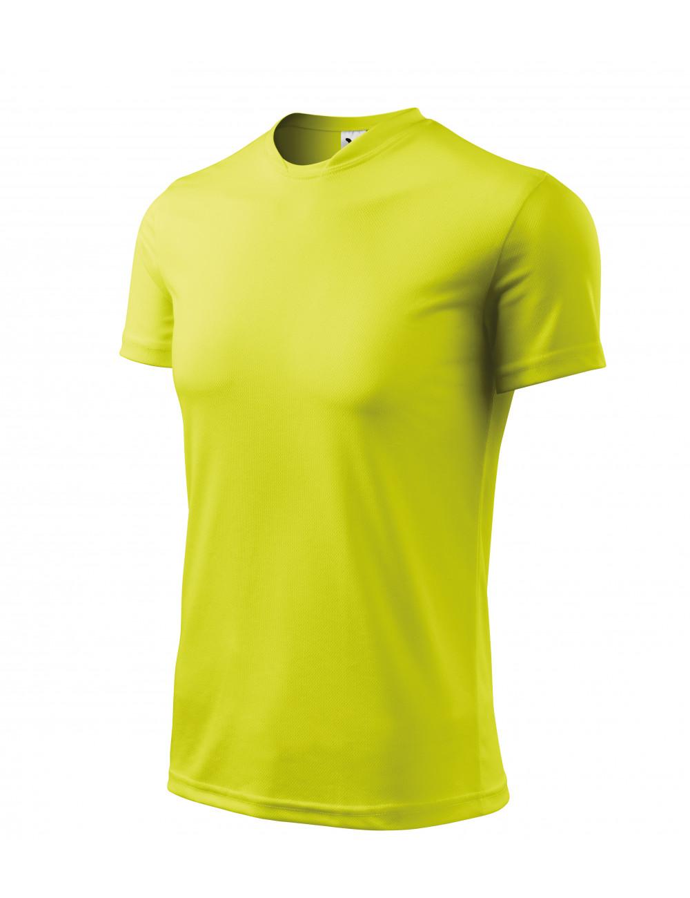 Adler MALFINI Koszulka męska Fantasy 124 neon yellow