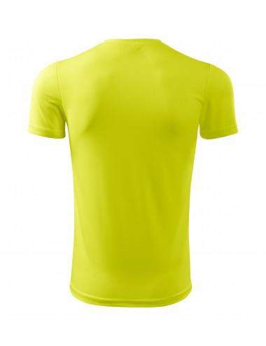 2Adler MALFINI Koszulka męska Fantasy 124 neon yellow