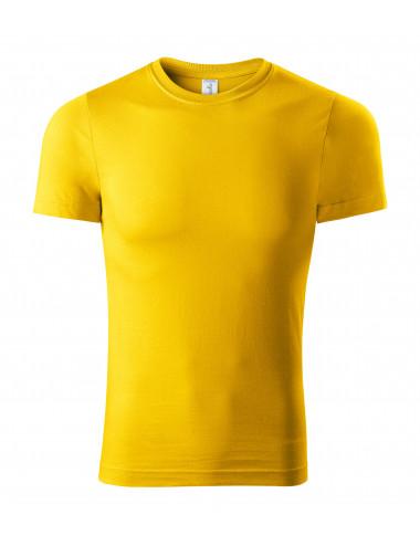 2Adler PICCOLIO Koszulka unisex Paint P73 żółty