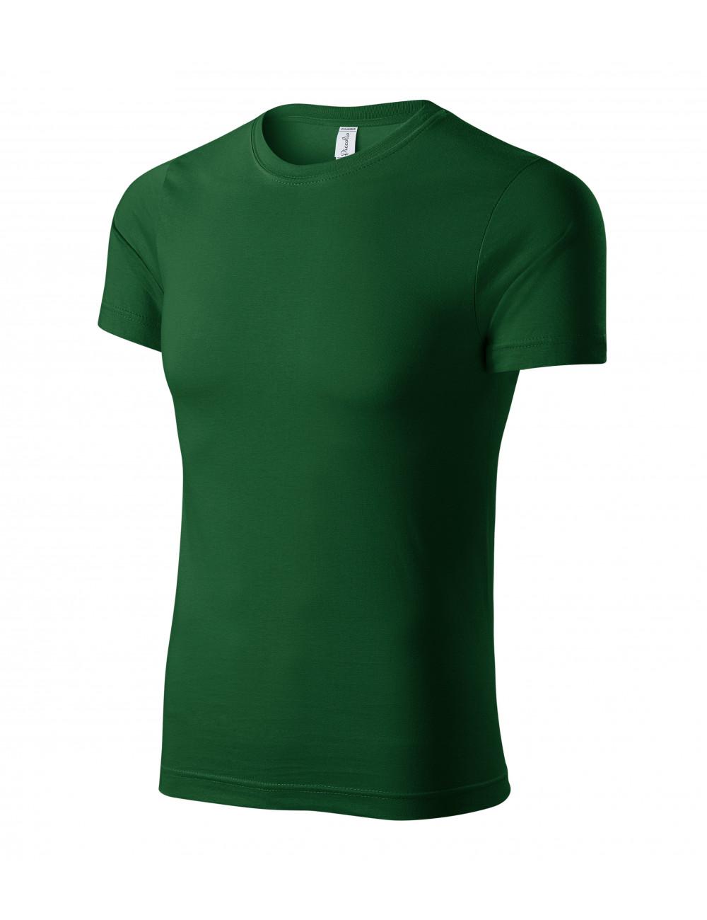 Adler PICCOLIO Koszulka unisex Paint P73 zieleń butelkowa