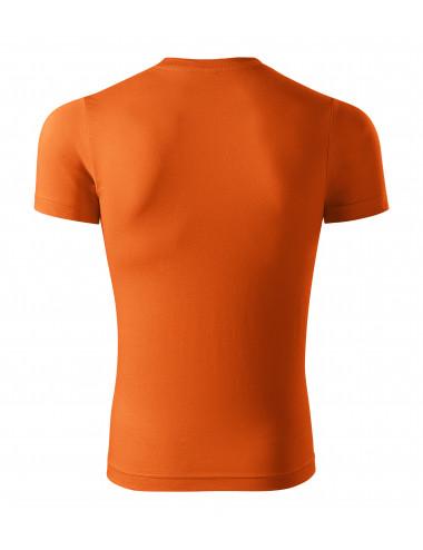 2Adler PICCOLIO Koszulka unisex Paint P73 pomarańczowy