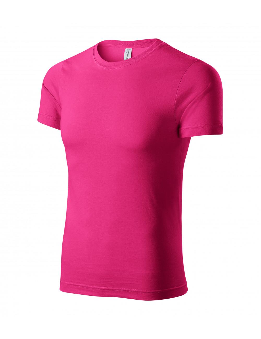 Adler PICCOLIO Koszulka unisex Paint P73 czerwień purpurowa