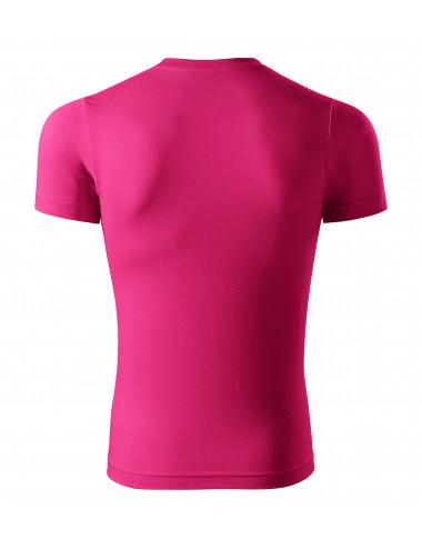 2Adler PICCOLIO Koszulka unisex Paint P73 czerwień purpurowa
