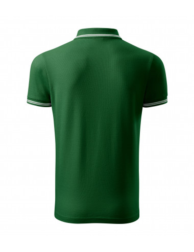 2Adler MALFINI Koszulka polo męska Urban 219 zieleń butelkowa