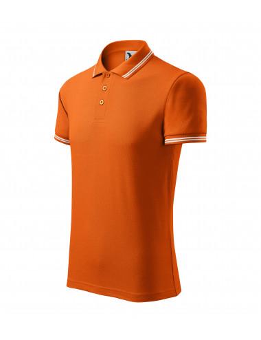 2Adler MALFINI Koszulka polo męska Urban 219 pomarańczowy