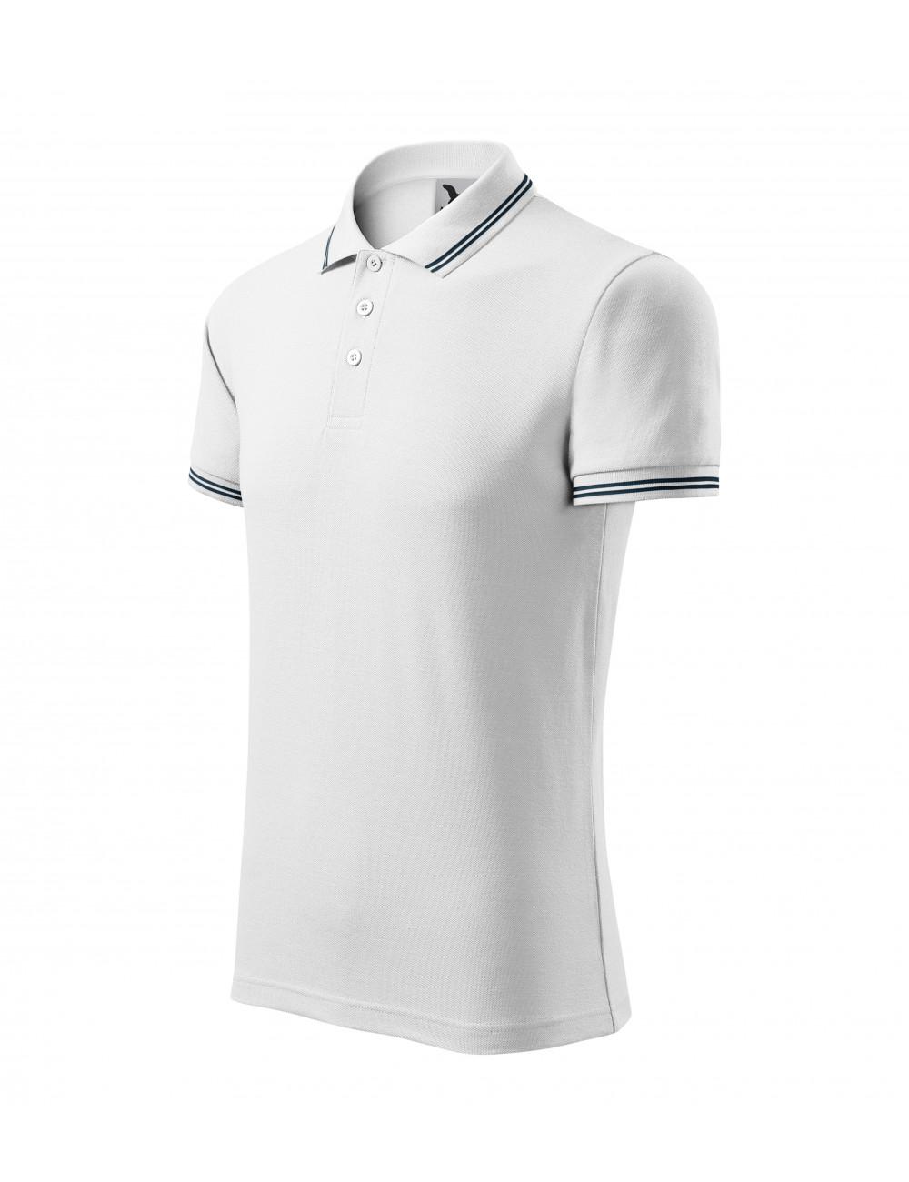 Adler MALFINI Koszulka polo męska Urban 219 biały