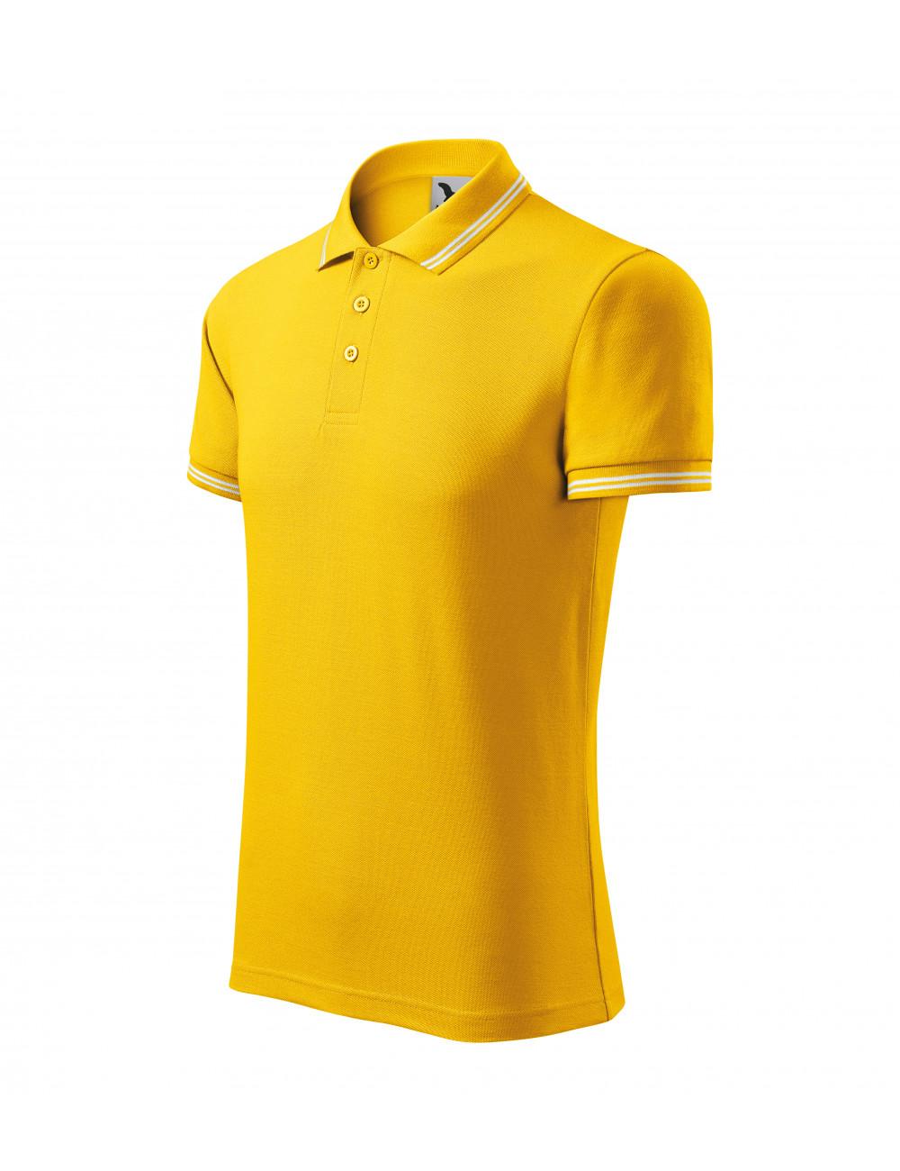 Adler MALFINI Koszulka polo męska Urban 219 żółty