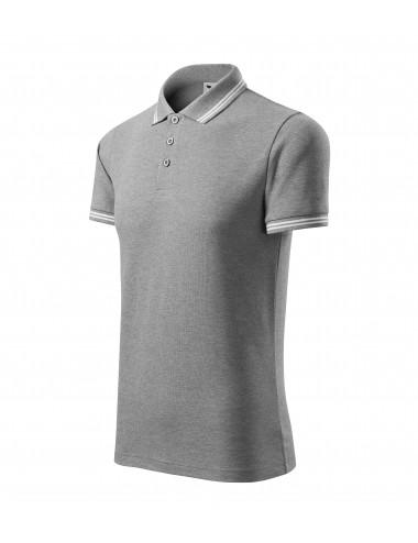 2Adler MALFINI Koszulka polo męska Urban 219 ciemnoszary melanż