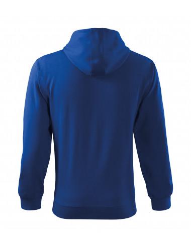 2Adler MALFINI Bluza męska Trendy Zipper 410 chabrowy