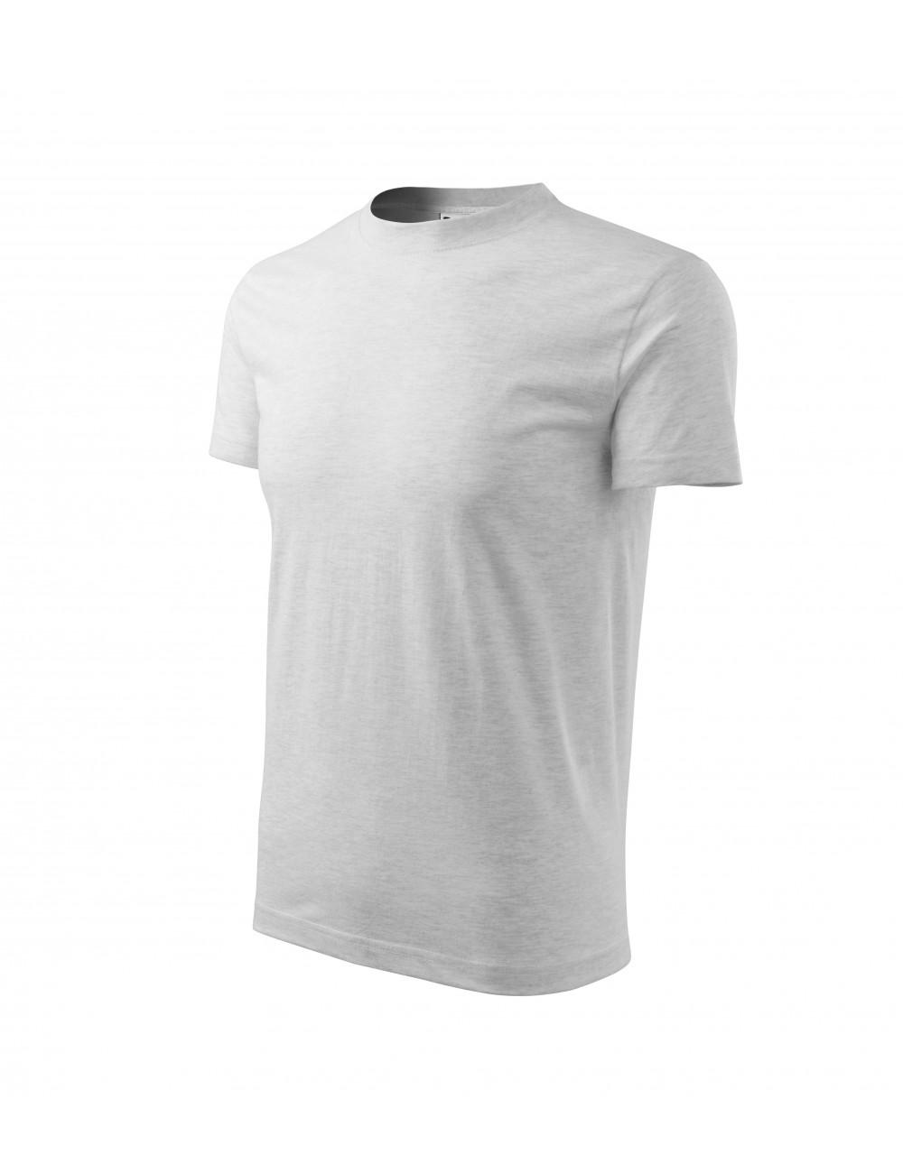 Adler MALFINI Koszulka dziecięca Basic 138 jasnoszary melanż
