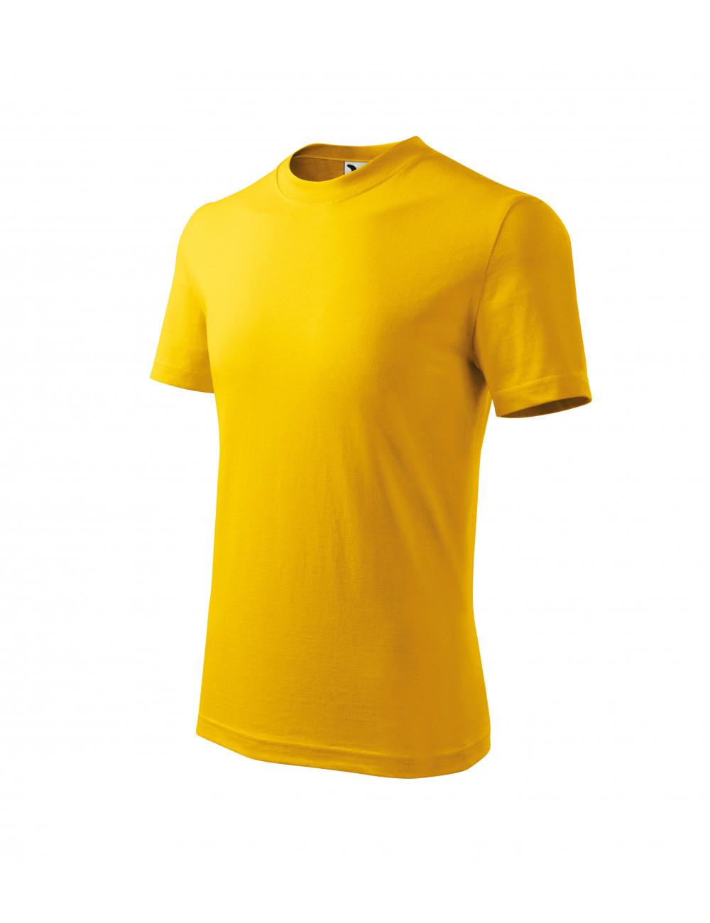 Adler MALFINI Koszulka dziecięca Basic 138 żółty