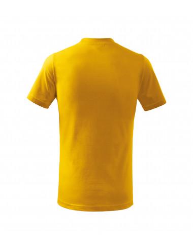 2Adler MALFINI Koszulka dziecięca Basic 138 żółty