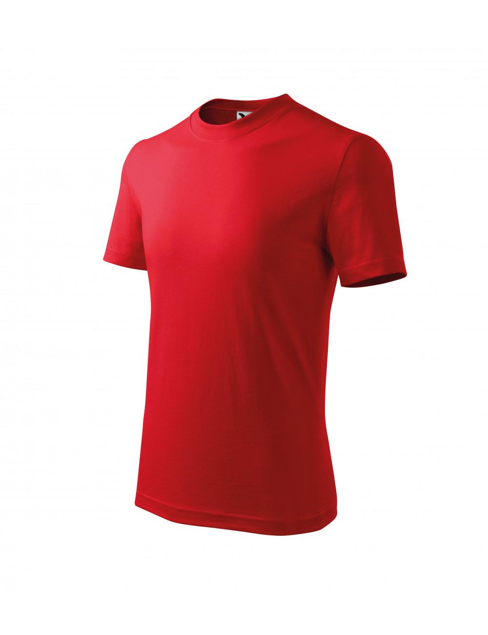 Adler MALFINI Koszulka dziecięca Basic 138 czerwony