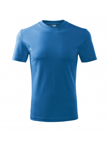 2Adler MALFINI Koszulka dziecięca Basic 138 lazurowy