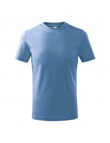 2Adler MALFINI Koszulka dziecięca Basic 138 błękitny