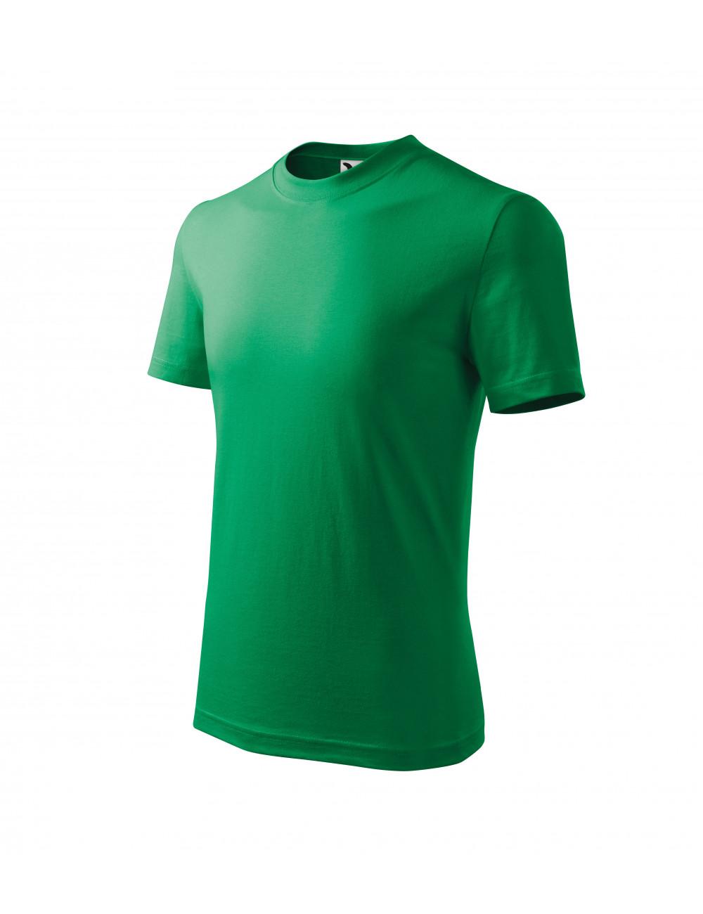 Adler MALFINI Koszulka dziecięca Basic 138 zieleń trawy