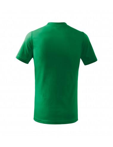 2Adler MALFINI Koszulka dziecięca Basic 138 zieleń trawy