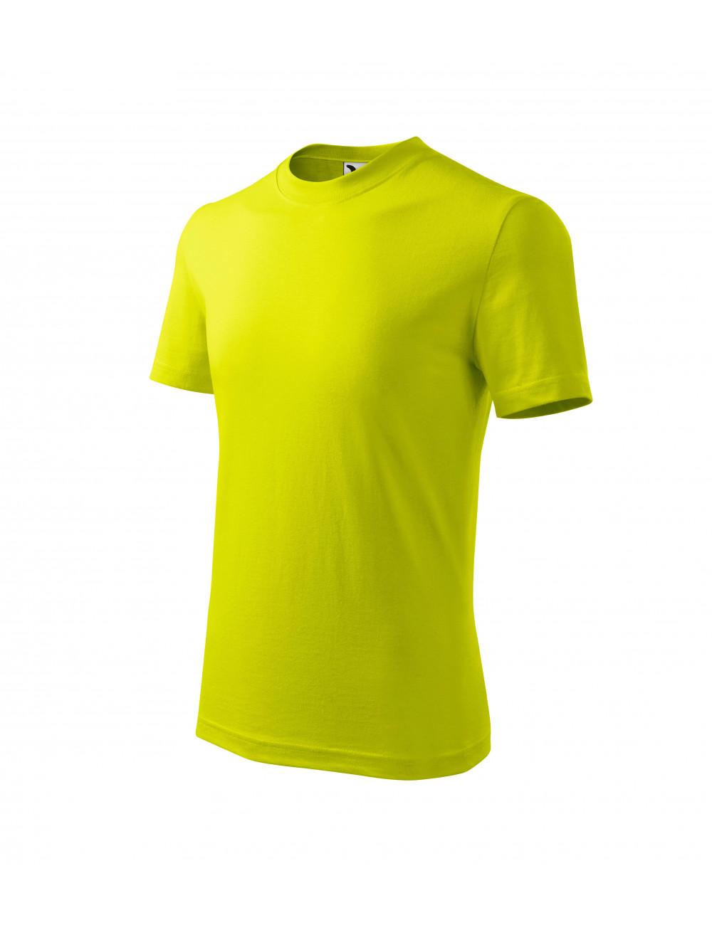 Adler MALFINI Koszulka dziecięca Basic 138 limetka