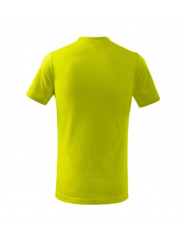 2Adler MALFINI Koszulka dziecięca Basic 138 limetka