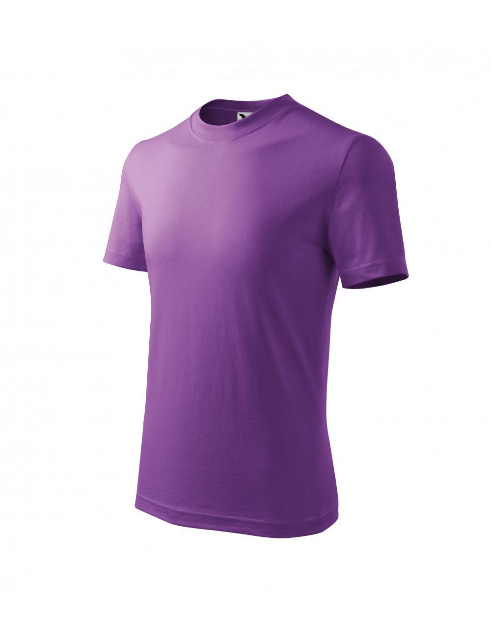 Adler MALFINI Koszulka dziecięca Basic 138 fioletowy