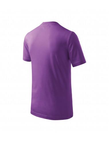 2Adler MALFINI Koszulka dziecięca Basic 138 fioletowy