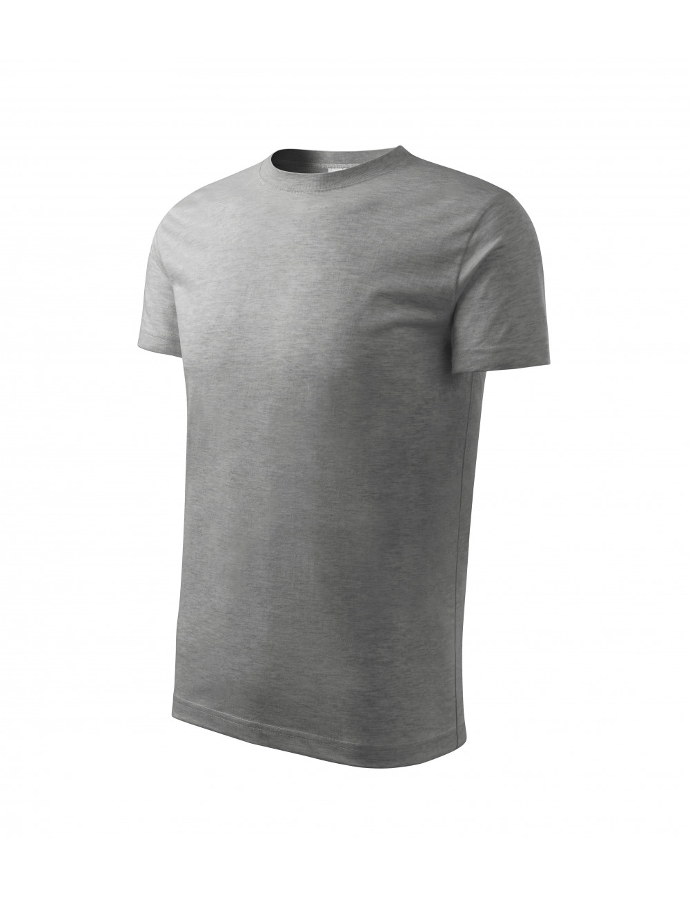 Adler MALFINI Koszulka dziecięca Basic 138 ciemnoszary melanż