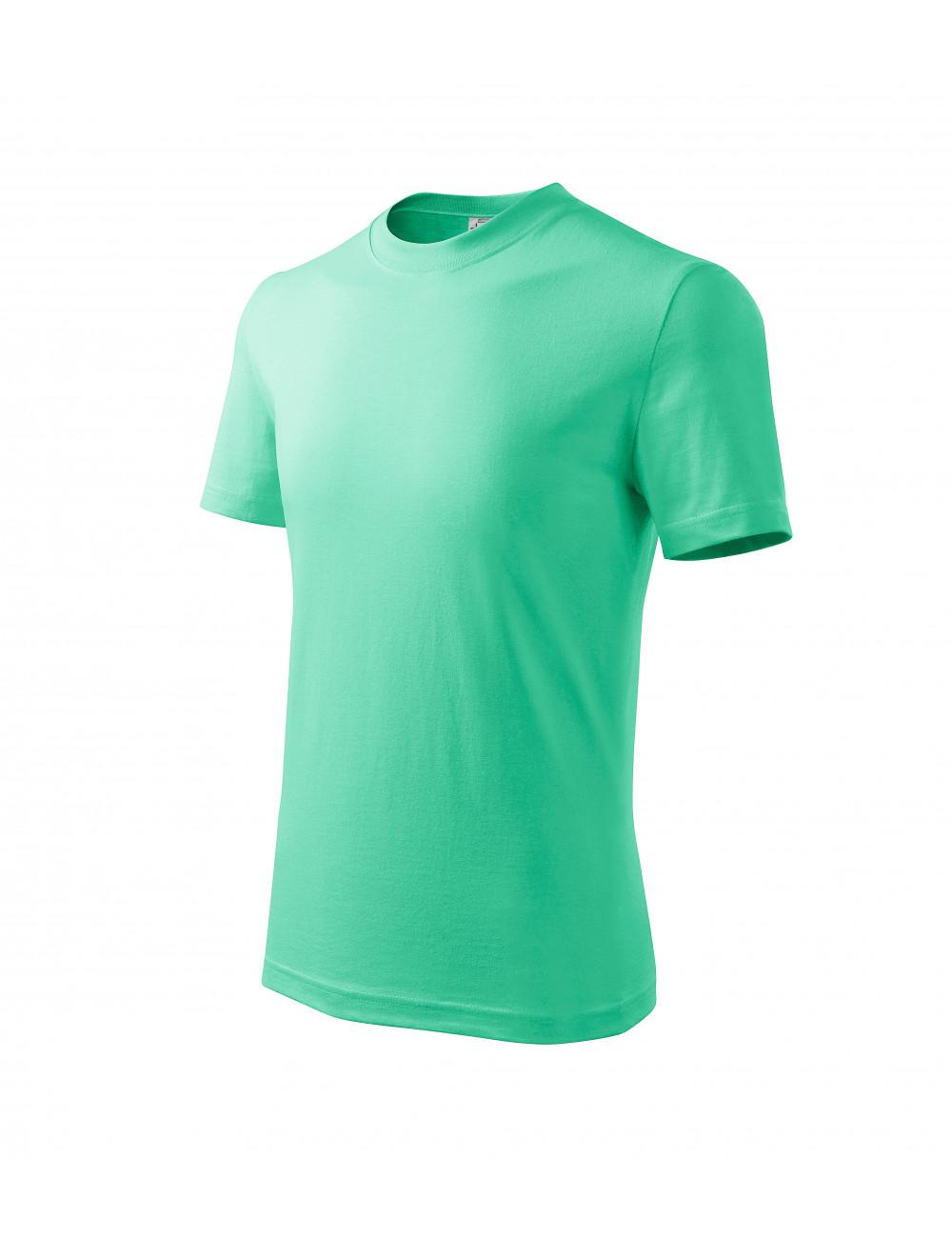 Adler MALFINI Koszulka dziecięca Basic 138 miętowy