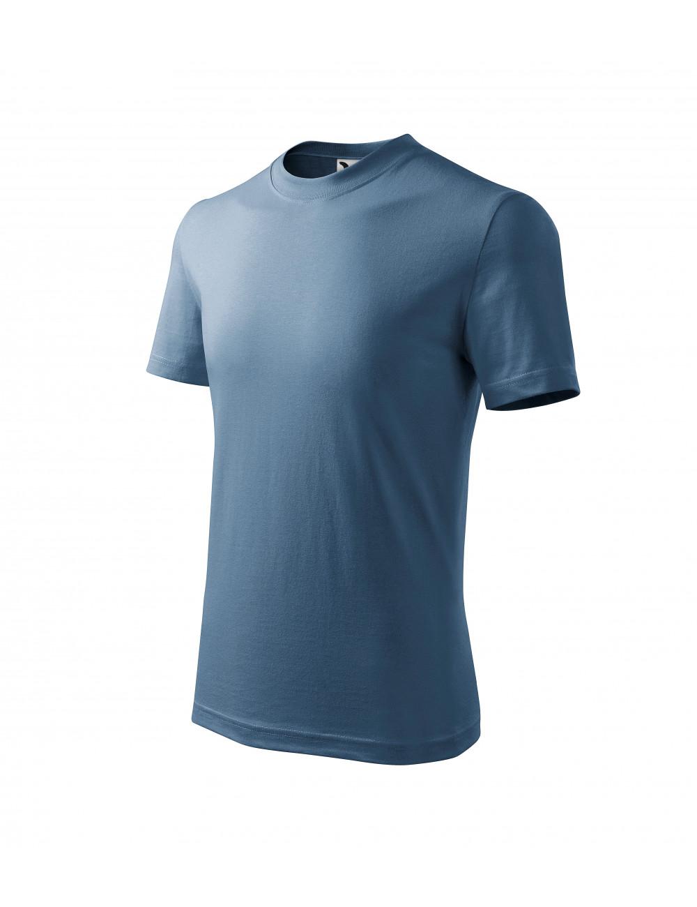 Adler MALFINI Koszulka dziecięca Basic 138 denim