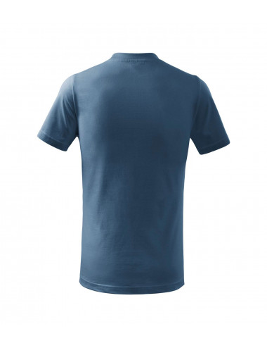 2Adler MALFINI Koszulka dziecięca Basic 138 denim