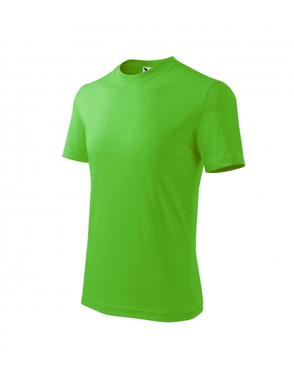 Adler MALFINI Koszulka dziecięca Basic 138 green apple