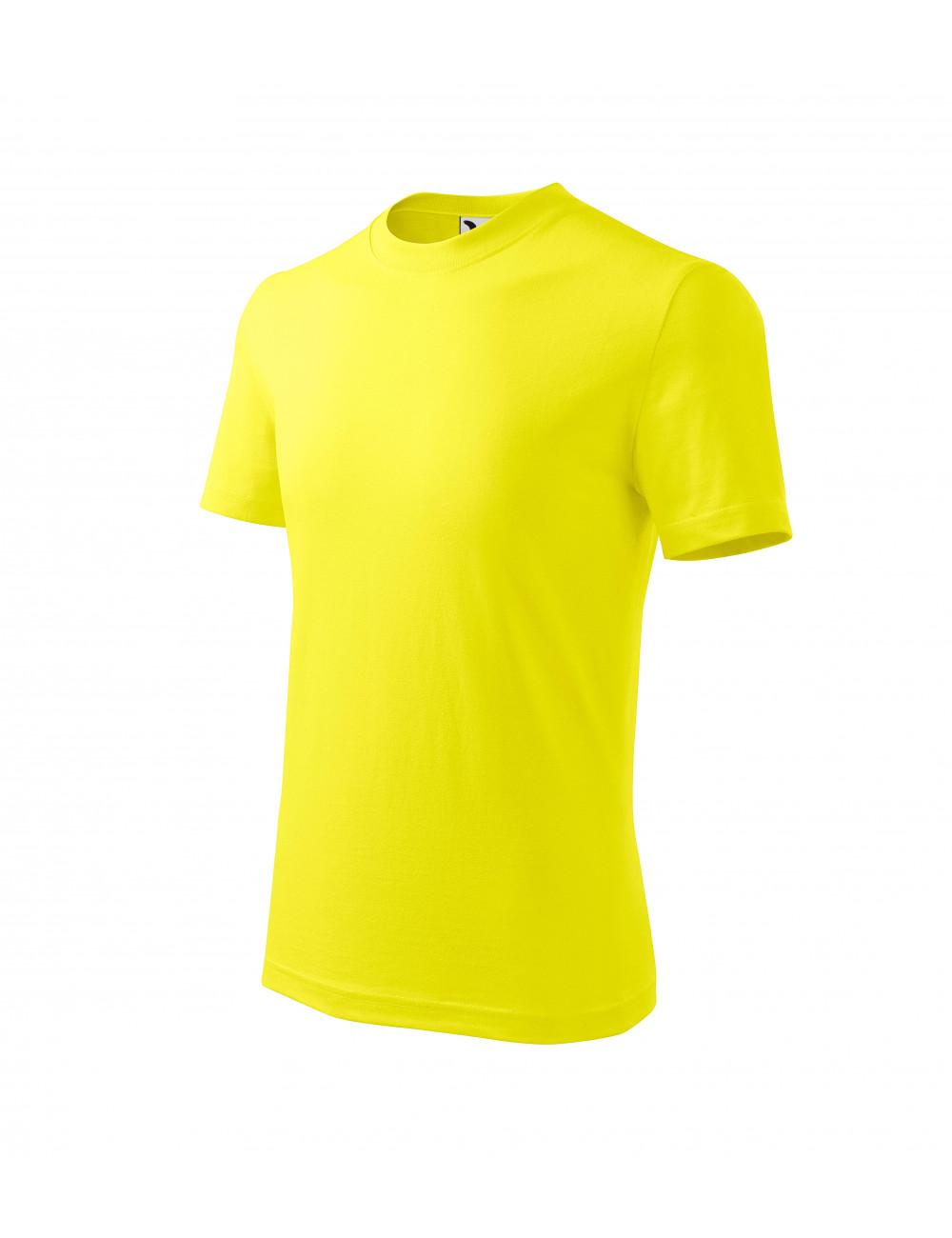 Adler MALFINI Koszulka dziecięca Basic 138 cytrynowy