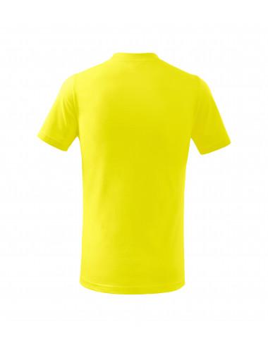 2Adler MALFINI Koszulka dziecięca Basic 138 cytrynowy
